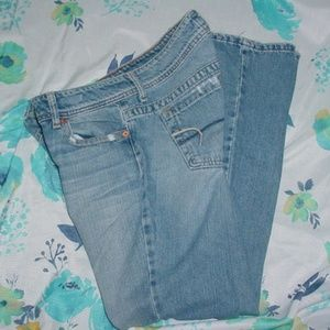 AMERICAN EAGLE AE Artist Distressed Jeans Size 6